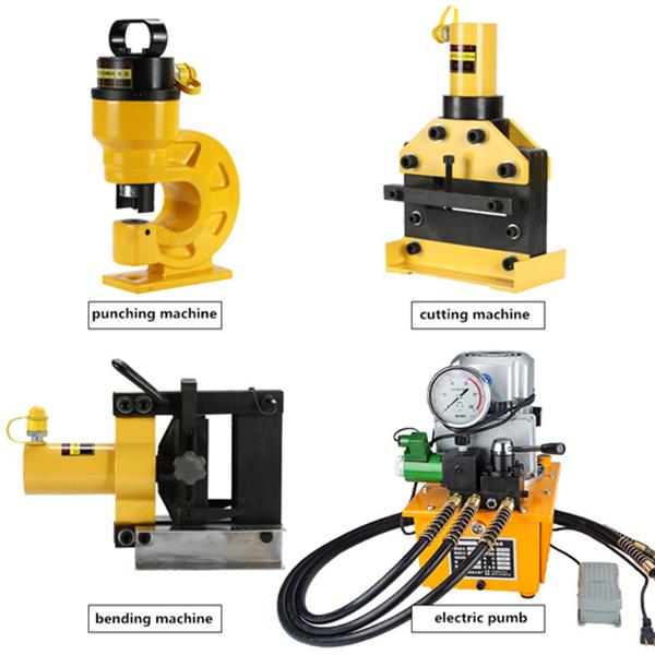 أدوات آلة بسبار المحمولة DHY-150 آلة قص وثني النحاس